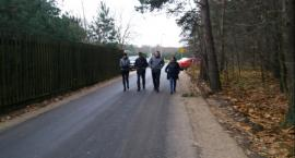 Białkowo: Kilometr nowej drogi
